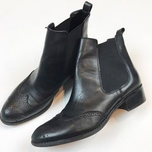 Franco Sarto | Black Charmer Ankle Booties